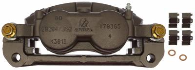 ACDelco - ACDelco Professional Front Disc Brake Caliper Assembly without Pads (Friction Ready Non-Coated) 18FR12594