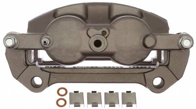 ACDelco - ACDelco Professional Front Passenger Side Disc Brake Caliper Assembly without Pads (Friction Ready Non-Coated) 18FR12615