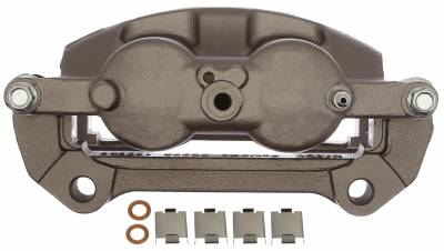 ACDelco - ACDelco Professional Front Driver Side Disc Brake Caliper Assembly without Pads (Friction Ready Non-Coated) 18FR12616