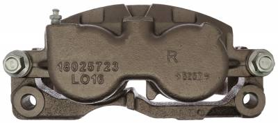 ACDelco - ACDelco Professional Front Passenger Side Disc Brake Caliper Assembly without Pads (Friction Ready) 18FR1380N