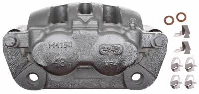 ACDelco - ACDelco Professional Front Disc Brake Caliper Assembly without Pads (Friction Ready Coated) 18FR2180C