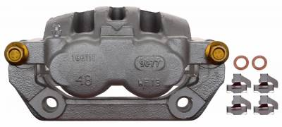 ACDelco - ACDelco Professional Front Disc Brake Caliper Assembly without Pads (Friction Ready Coated) 18FR2617C