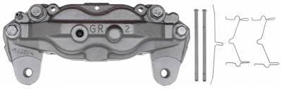 ACDelco - ACDelco Professional Front Disc Brake Caliper Assembly without Pads (Friction Ready Coated) 18FR2655C