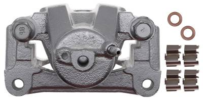 ACDelco - ACDelco Professional Front Disc Brake Caliper Assembly without Pads (Friction Ready Coated) 18FR2658C