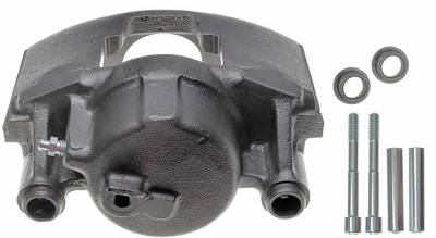 ACDelco - ACDelco Professional Front Passenger Side Disc Brake Caliper Assembly without Pads (Friction Ready) 18FR741N