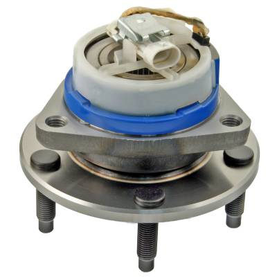 ACDelco - ACDelco Advantage Rear Wheel Hub and Bearing Assembly with Wheel Speed Sensor and Wheel Studs 512153