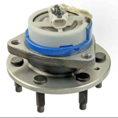 ACDelco - ACDelco Advantage Front Wheel Hub and Bearing Assembly with Wheel Speed Sensor and Wheel Studs 513198