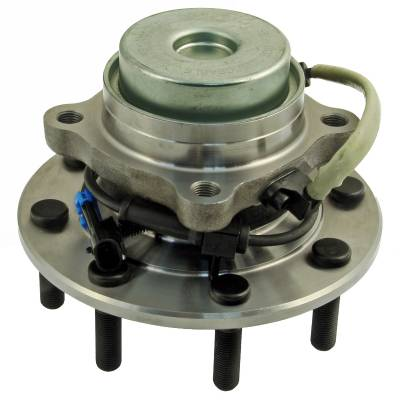 ACDelco - ACDelco Advantage Front Wheel Hub and Bearing Assembly with Wheel Speed Sensor and Wheel Studs 515060