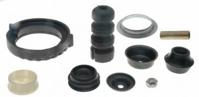 ACDelco - ACDelco Professional Rear Suspension Strut Mounting Kit with Shields, Bushings, Bumpers, and Nut 901-047