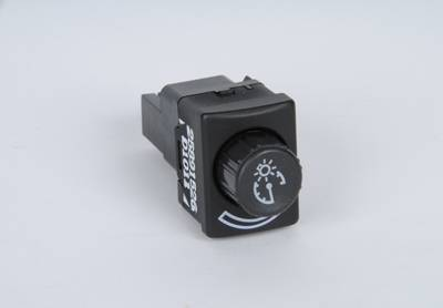 ACDelco - ACDelco GM Original Equipment Ebony and Blue Lagoon Instrument Panel Dimmer Switch D1537J