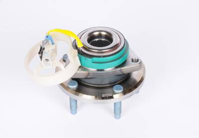 ACDelco - ACDelco GM Original Equipment Front Wheel Hub and Bearing Assembly with Wheel Speed Sensor and Wheel Studs RW20-145