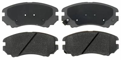ACDelco - ACDelco Advantage Ceramic Front Disc Brake Pad Set 14D924CHF1