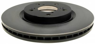 ACDelco - ACDelco Advantage Non-Coated Front Disc Brake Rotor Assembly 18A2687A