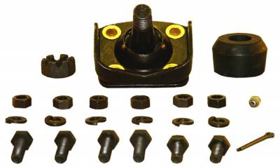 ACDelco - ACDelco Advantage Front Lower Suspension Ball Joint Assembly 46D2257A