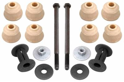 ACDelco - ACDelco Advantage Front Suspension Stabilizer Bar Link Bushing Kit with Washers, Nut, and Bolt 46G0068A