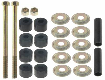 ACDelco - ACDelco Advantage Rear Suspension Stabilizer Bar Link Bushing Kit with Washers, Nut, and Bolt 46G0338A
