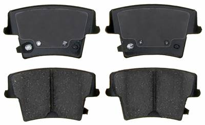 ACDelco - ACDelco Specialty Performance (Police) Semi-Metallic Rear Disc Brake Pad Set 17D1057AMHPVF1
