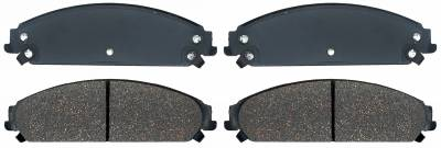 ACDelco - ACDelco Specialty Performance (Police) Semi Metallic Front Disc Brake Pad Set 17D1058MHPVF1