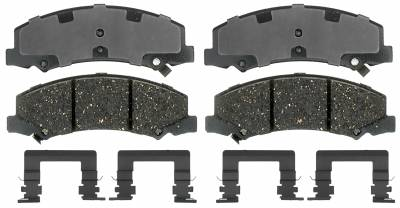 ACDelco - ACDelco Specialty Performance (Police) Semi Metallic Front Disc Brake Pad Set 17D1159MHPVF1
