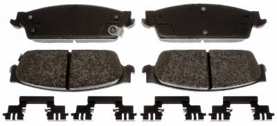 ACDelco - ACDelco Specialty Performance (Police) Semi-Metallic Rear Disc Brake Pad Set 17D1194MHPVF1