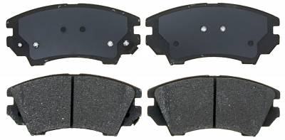 ACDelco - ACDelco Specialty Performance (Police) Semi Metallic Front Disc Brake Pad Set 17D1404MHPVF1