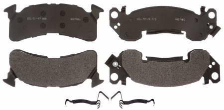 ACDelco - ACDelco Professional Semi-Metallic Front Disc Brake Pad Set 17D153MH