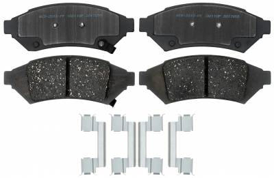 ACDelco - ACDelco Advantage Front Disc Brake Pad Set 14D1000CHF1