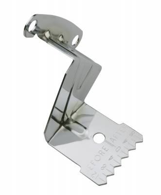 Proform - Proform 141-200 - Engine Timing Tab; Chrome; Fits Small Block Chevy using 6-3/4 or 7 Inch Balancer