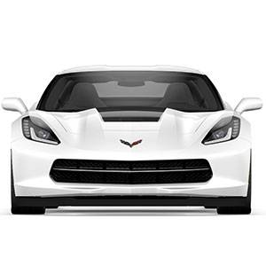 GM Accessories - GM Accessories 22989107 - Hood Stinger Stripe Package in Carbon Flash [C7 Corvette]