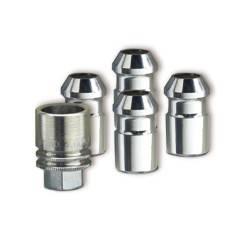 GM Accessories - GM Accessories 9599472 - Wheel Lock Kit in Chrome [2021+ Trailblazer]