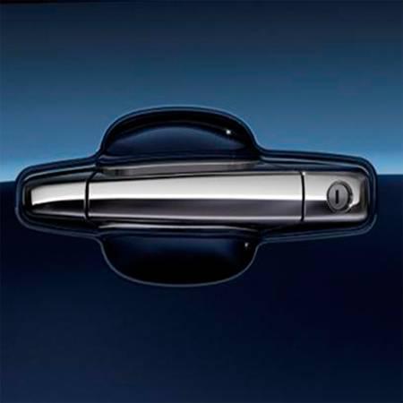 GM Accessories - GM Accessories 84275015 - Front Exterior Door Handles in Chrome [2013-14 Silverado&Sierra]