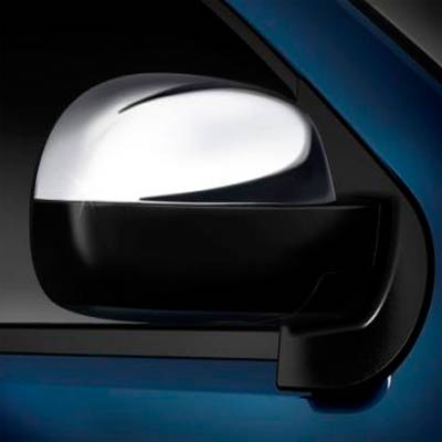 GM Accessories - GM Accessories 17800560 - Outside Rearview Mirror Covers in Chrome