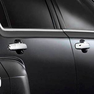 GM Accessories - GM Accessories 19212052 -  Front and Rear Door Handles in Chrome
