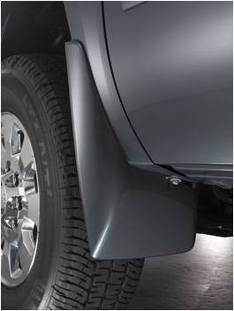 GM Accessories - GM Accessories 19212552 - Front Molded Splash Guards in Black [2013-14 Sierra]