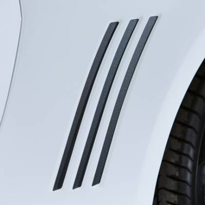 GM Accessories - GM Accessories 20972524 - Gill Stripes Decal Package in Black [2013-15 Camaro]