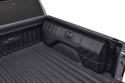 GM Accessories - GM Accessories 84705347 - Short Bed Side Mounted Bed Storage Box Kit (for Models with MultiPro Tailgate) [2019+ Silverado]