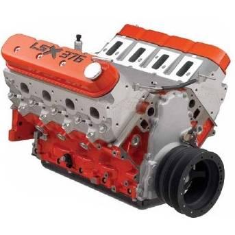 Chevrolet Performance - Chevrolet Performance 19417356 - LSX376-B15 Longblock Crate Engine - 473HP