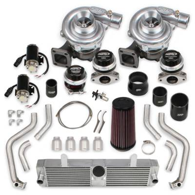 STS Turbo - STS 2004 - Remote Mounted Twin Turbo System & fuel injectors without hand-held