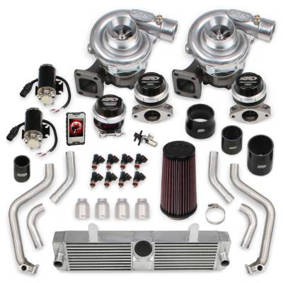 STS Turbo - STS 2008T - Remote Mounted Twin Turbo System & fuel injectors with Hand-Held
