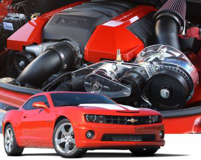 ProCharger - ProCharger 1GT212-SCI - High Output Intercooled System with P-1SC-1 [2010-15 Camaro SS]