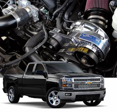 ProCharger - ProCharger 1GV213-SCI - High Output Intercooled System with P-1SC-1 [2014-18 GM 5.3 & 6.2 Trucks]