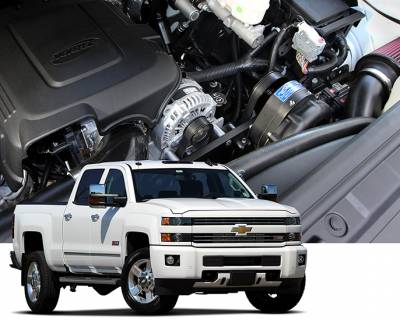 ProCharger - ProCharger 1GV314-SCI - High Output Intercooled Systems with P-1SC-1 [2015-18 GM 6.0 Trucks]