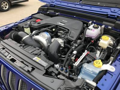 ProCharger - ProCharger 1JL214-SCI - High Output Intercooled System with P-1SC-1 [2018-20 3.6 JL Wrangler]