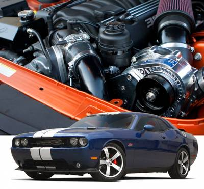 ProCharger - ProCharger 1DG214-SCI - Stage II Intercooled System with P-1SC-1 [2011-14 6.4 Challenger]