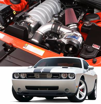 ProCharger - ProCharger 1DF214-SCI-6.1 - Stage II Intercooled System with P-1SC-1 [2008-10 6.1 Challenger]