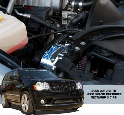 ProCharger - ProCharger 1DJ214-SCI - High Output Intercooled System with P-1SC-1 [2006-10 6.1 Grand Cherokee]