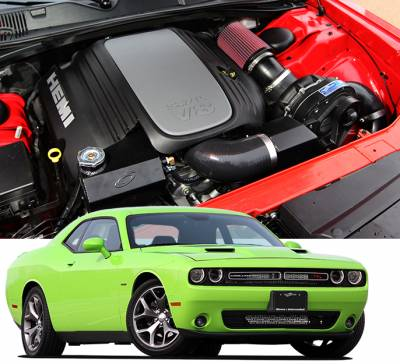 ProCharger - ProCharger 1DF615-SCI - High Output Intercooled System with P-1SC-1 [2015-18 5.7 Challenger]