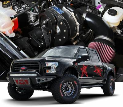 ProCharger - ProCharger 1FY211-SCI - High Output Intercooled System with P-1SC-1 [2015-17 F-150 5.0]
