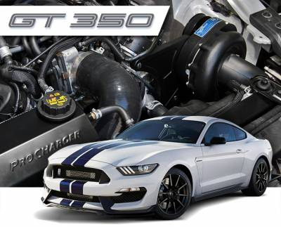 ProCharger - ProCharger 1FW314-SCI - Stage II Intercooled System with P-1SC-1 [2015-18 Mustang GT350]