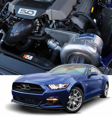 ProCharger - ProCharger 1FW212-SCI - Stage II Intercooled System with P-1SC-1 [2015-17 Mustang 5.0]